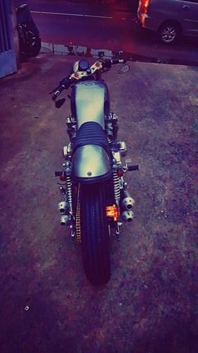 Honda CB750 cafe racer do cuc chat qua ban tay tho Viet - 6