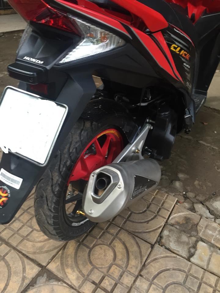 Honda Click thai phien ban doi cu do cuc chat - 2
