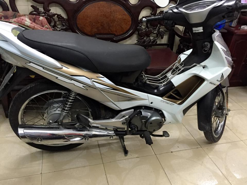 Honda Future X fi banh cam BStp mau trang chinh chu - 4