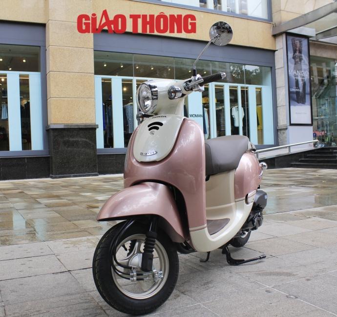 Honda Giorno 2015 xe tay ga danh cho nguoi khong co bang lai - 2