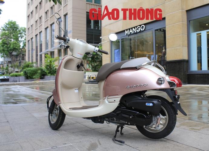 Honda Giorno 2015 xe tay ga danh cho nguoi khong co bang lai - 14