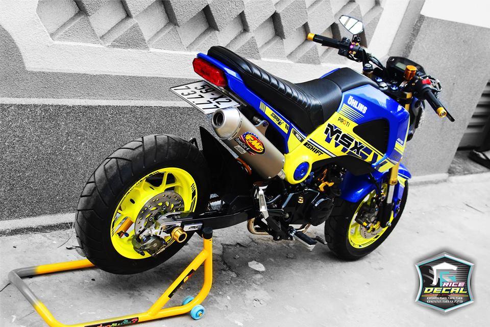 Honda MSX chiec mini bike bien the nhieu phien ban do - 3