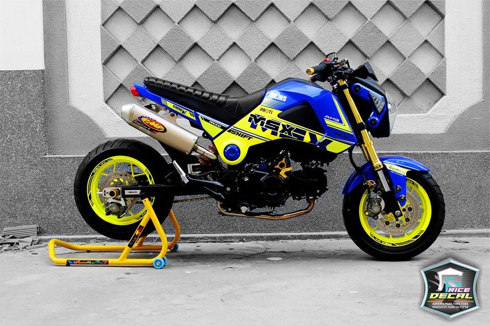 Honda MSX chiec mini bike bien the nhieu phien ban do - 4