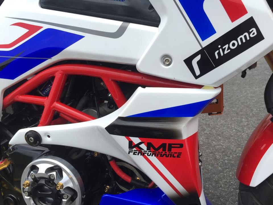 Honda MSX do la mat voi phong cach HRC - 2