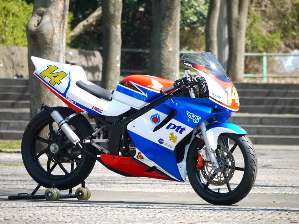 Honda NSR 150SP phien ban do tu biker nguoi nhat