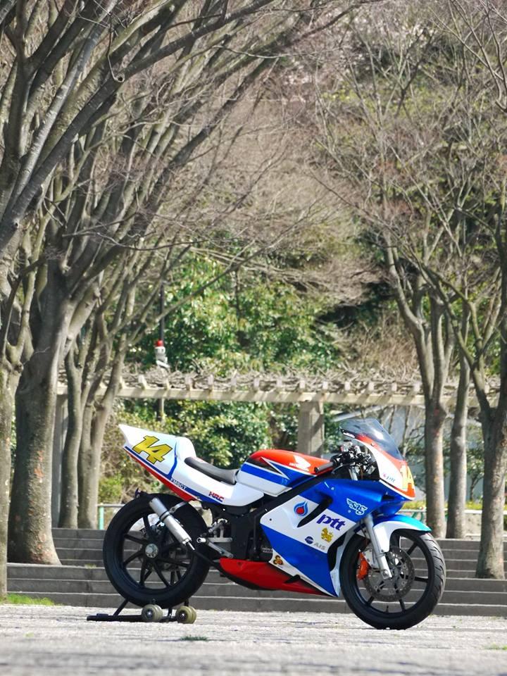 Honda NSR 150SP phien ban do tu biker nguoi nhat - 5