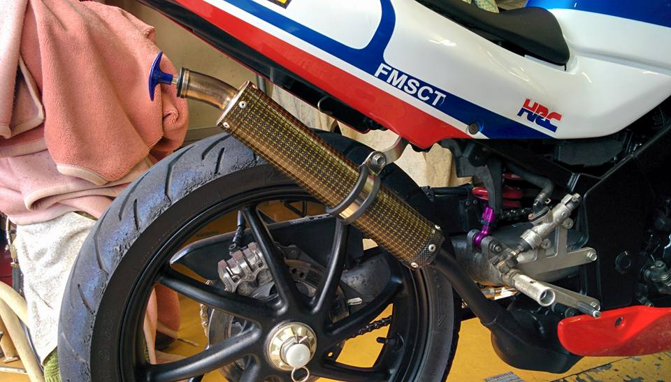 Honda NSR 150SP phien ban do tu biker nguoi nhat - 7