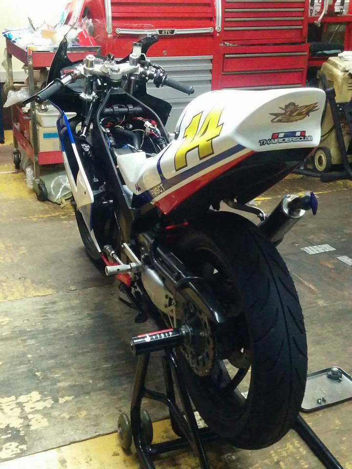 Honda NSR 150SP phien ban do tu biker nguoi nhat - 8