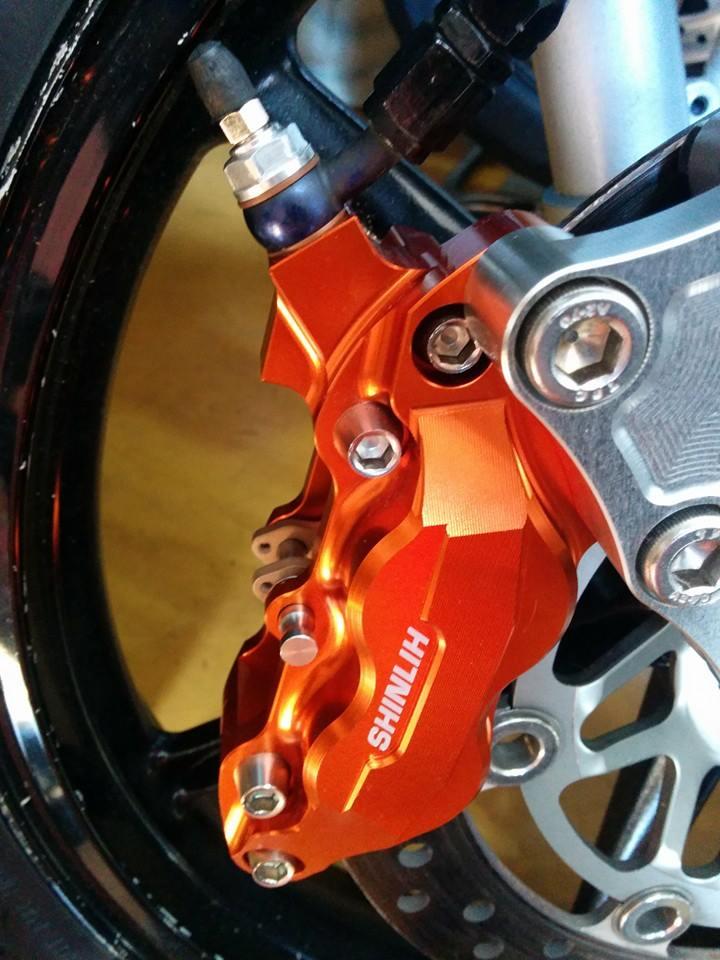Honda NSR 150SP phien ban do tu biker nguoi nhat - 10