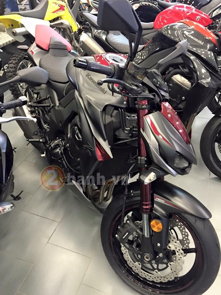 Kawasaki Z1000 2016 da xuat hien tai dai ly phan phoi