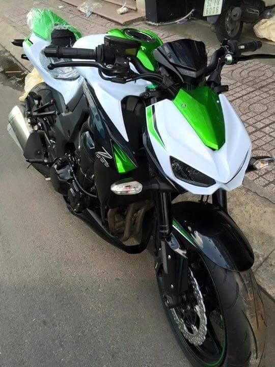 Kawasaki Z1000 2016 phien ban trang ngoc Stardust da co mat tai Viet Nam - 3