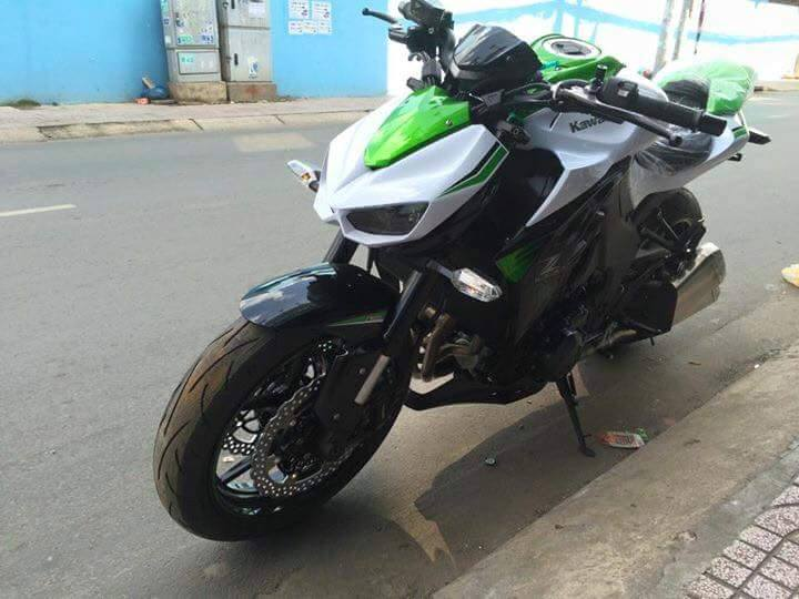 Kawasaki Z1000 2016 phien ban trang ngoc Stardust da co mat tai Viet Nam - 6