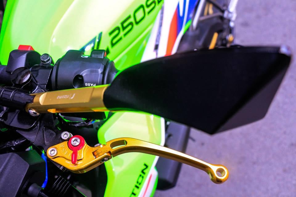 Kawasaki Z250SL do an tuong voi phien ban that noi troi - 4