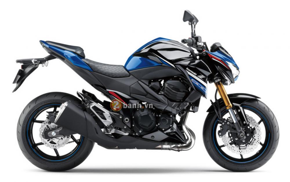 Kawasaki Z800 2016 chuan bi ra mat voi phien ban da sac mau - 3