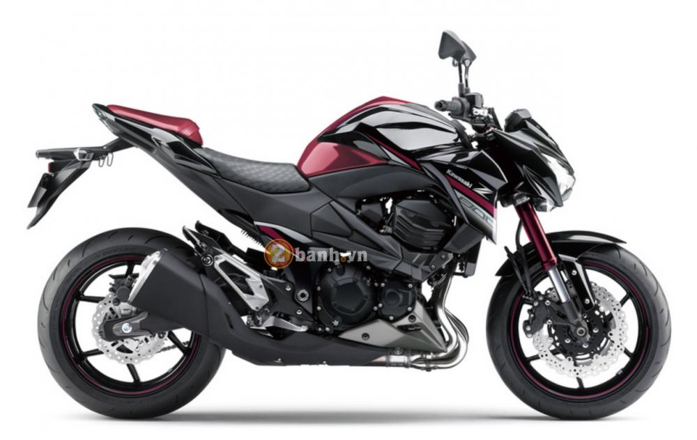 Kawasaki Z800 2016 chuan bi ra mat voi phien ban da sac mau - 6