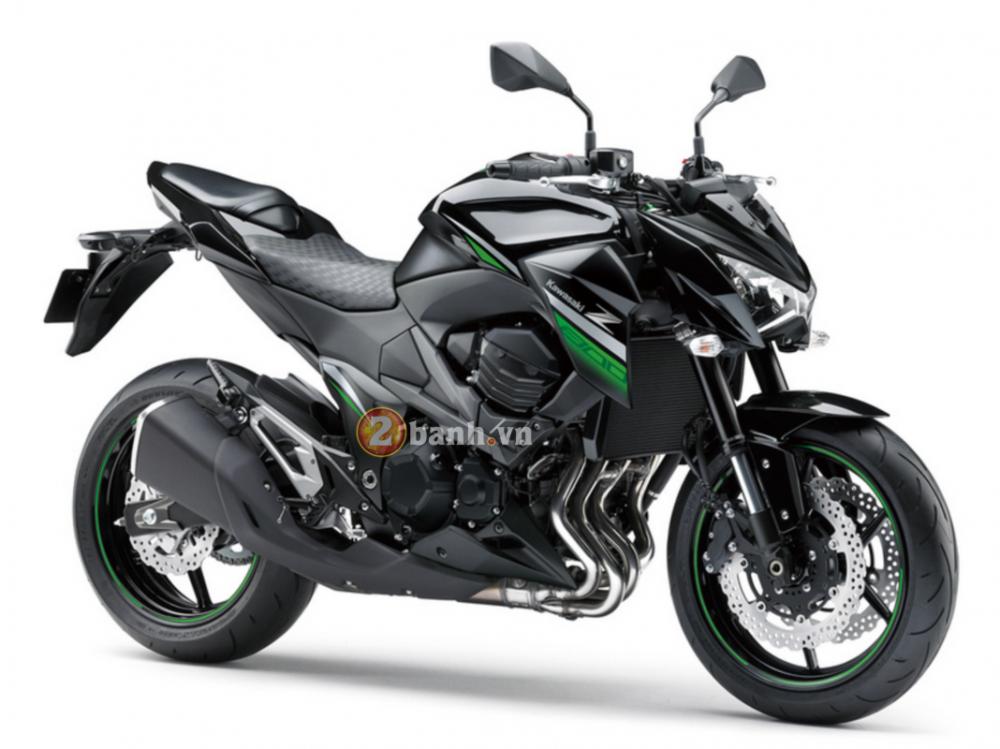 Kawasaki Z800 2016 chuan bi ra mat voi phien ban da sac mau - 7