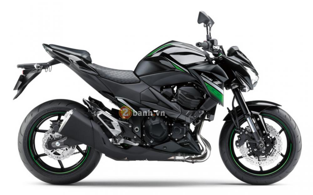 Kawasaki Z800 2016 chuan bi ra mat voi phien ban da sac mau - 9