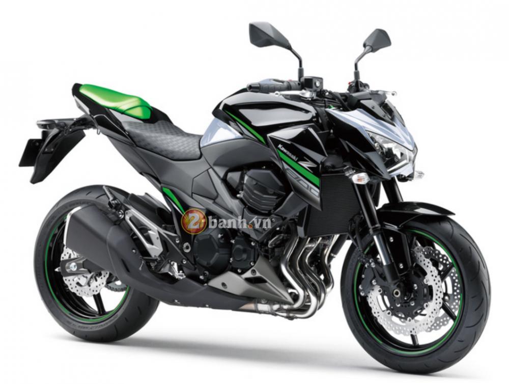 Kawasaki Z800 2016 chuan bi ra mat voi phien ban da sac mau - 10