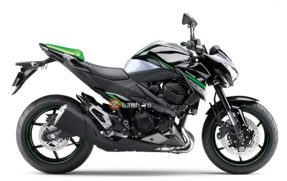 Kawasaki Z800 2016 chuan bi ra mat voi phien ban da sac mau - 12