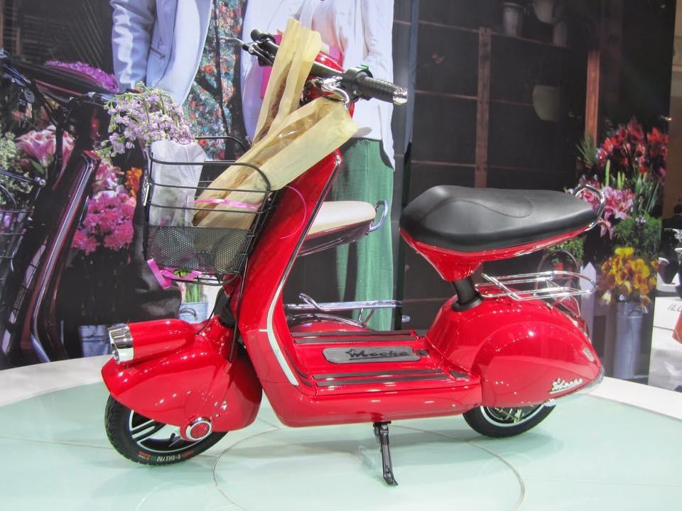 Khuyen mai lon mua xe dap dien Nijia Zoomer Mocha Milan Zoma xe CuB Little - 6