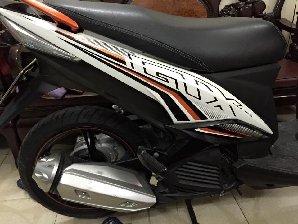 Luvias GTX FI 214 mau Trang Cam moi odo 6605KM - 3