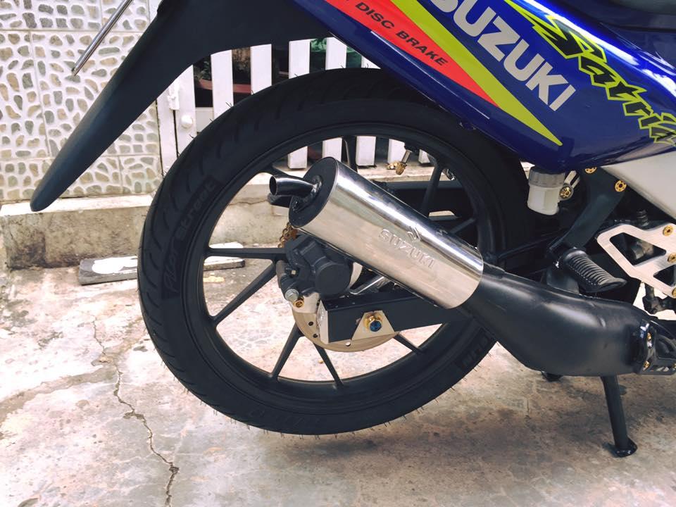 Ngam chiec Satria 120 phien ban tem co dep lung linh - 5
