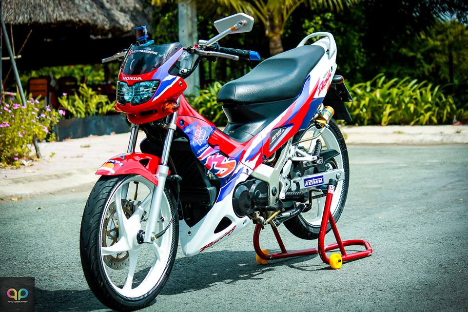 Nova Binh Duong dep manh me voi nhieu do choi va nguyen mau cua honda nova doi 2000 Do Trang Tim - 6