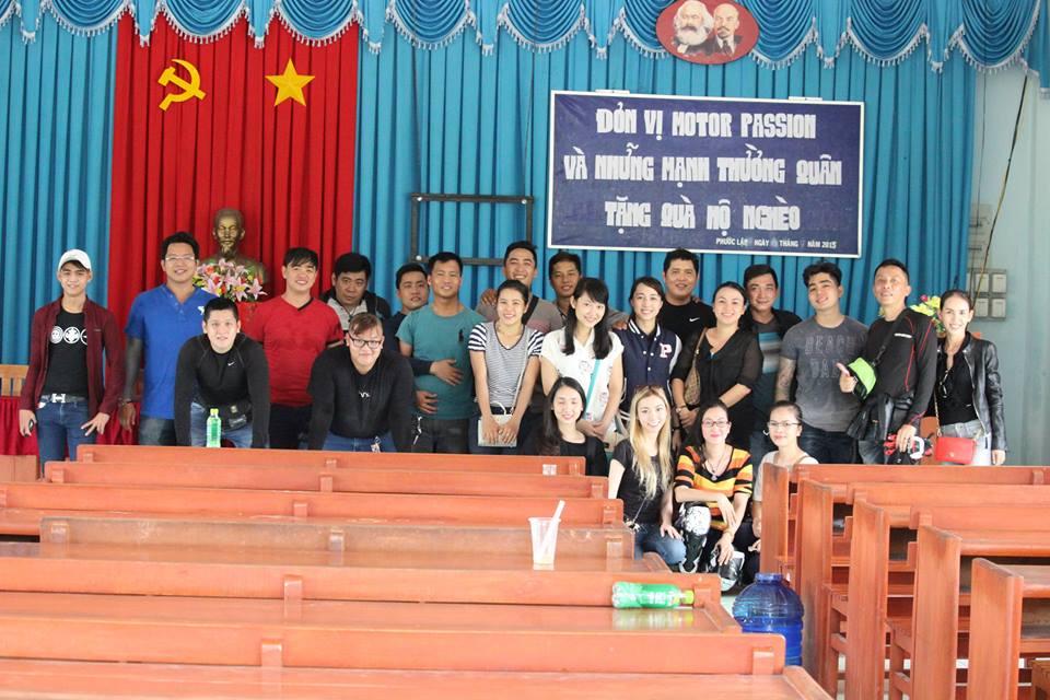 Passion Motor Team cung hanh trinh thien nguyen dau tien