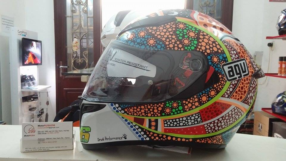 Motorush299 MU AGV HJC CABERG CHINH HANG - 7