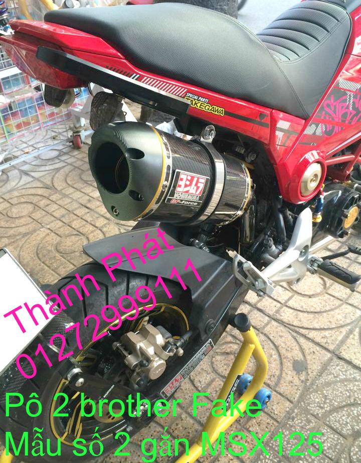 Do choi Honda MSX 125 tu A Z Po do Kinh gio Mo cay Chan bun sau de truoc Ducati Khung suo - 41