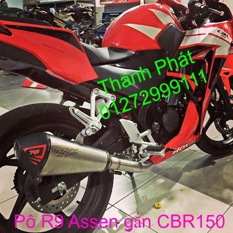 Po R9 Misano Assen gan Ex150 FZ150i MSX125 CBR150 R15 Z1000 Z800 KTM DukeUp 7915 - 15