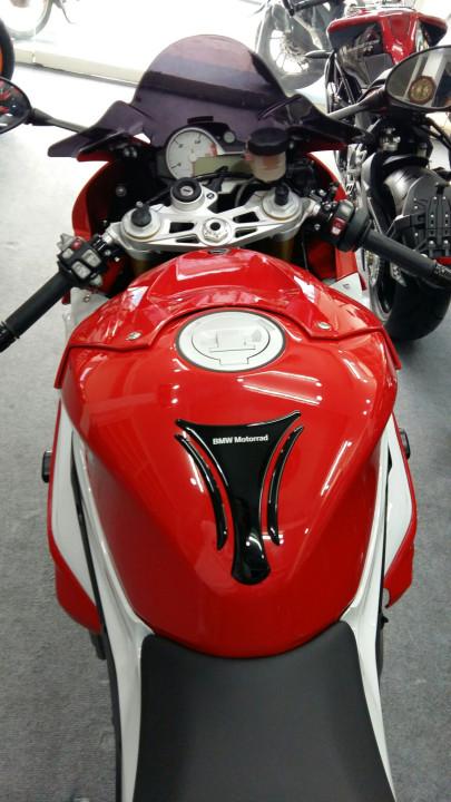 Showroom Moto ken Can ra di BMW S1000rr 2015 mau do trang full opstion chau au xe da qua su dung - 3