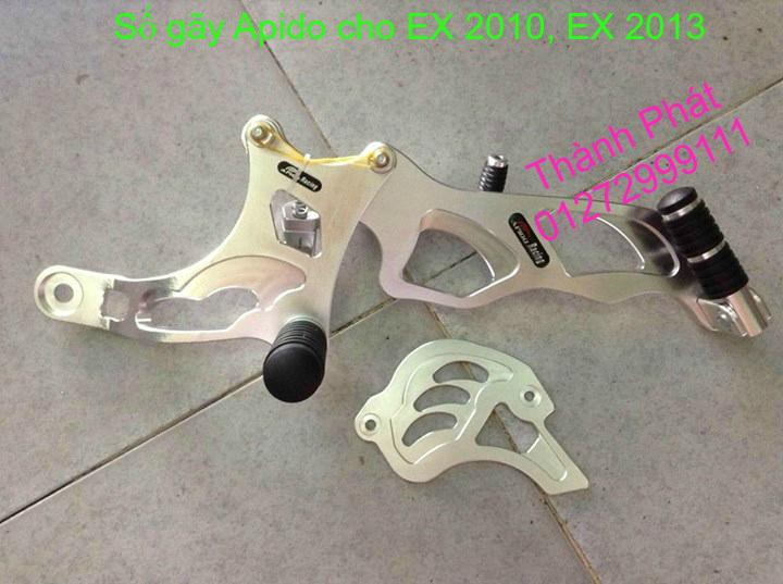 So gay gac chan sau cho Ex150 Ex2011 MSX125 FZ150i Raider KTM DukeUp 1192015 - 12