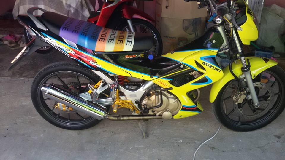 Suzuki Raider 150cc doi cu - 4