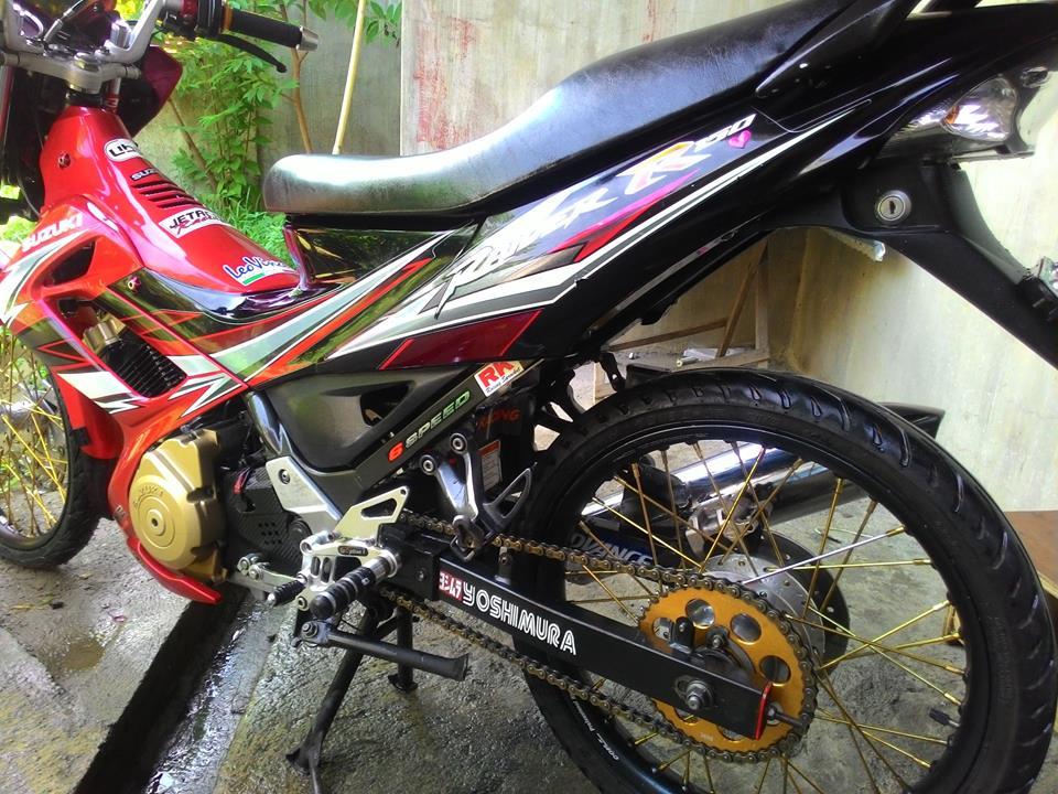 Suzuki raider R150 net dep chat tu khi len dan ao mat phuong - 5