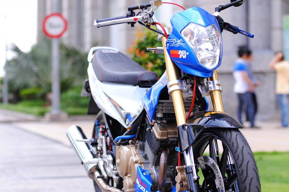 Suzuki Satria F do day dam me va nhiet huyet cua biker Viet - 3