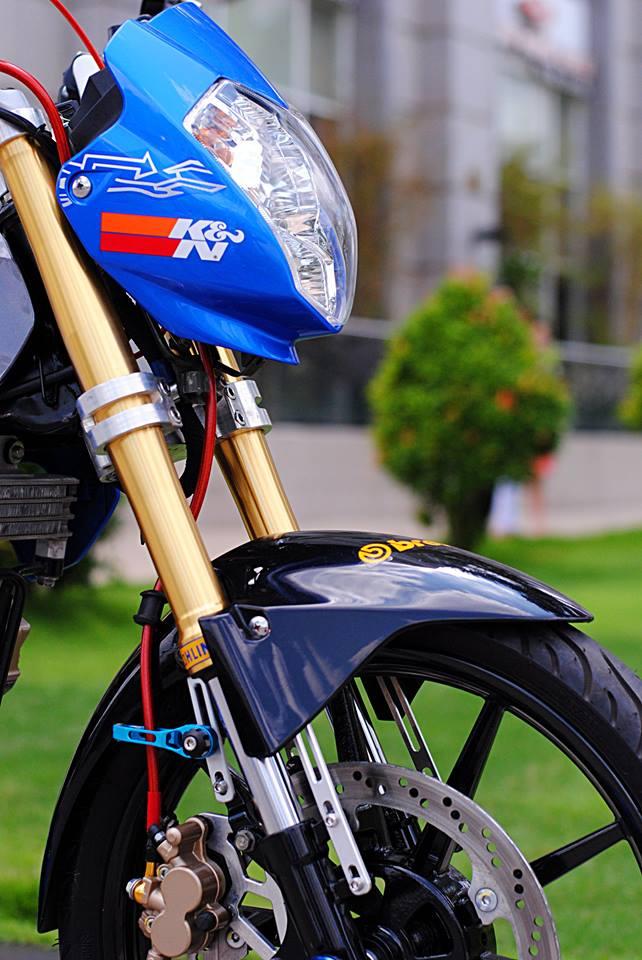 Suzuki Satria F do day dam me va nhiet huyet cua biker Viet - 5