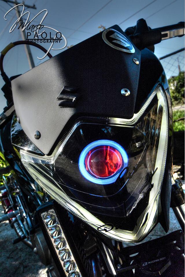 Suzuki Satria phien ban den tuyen black predator - 6