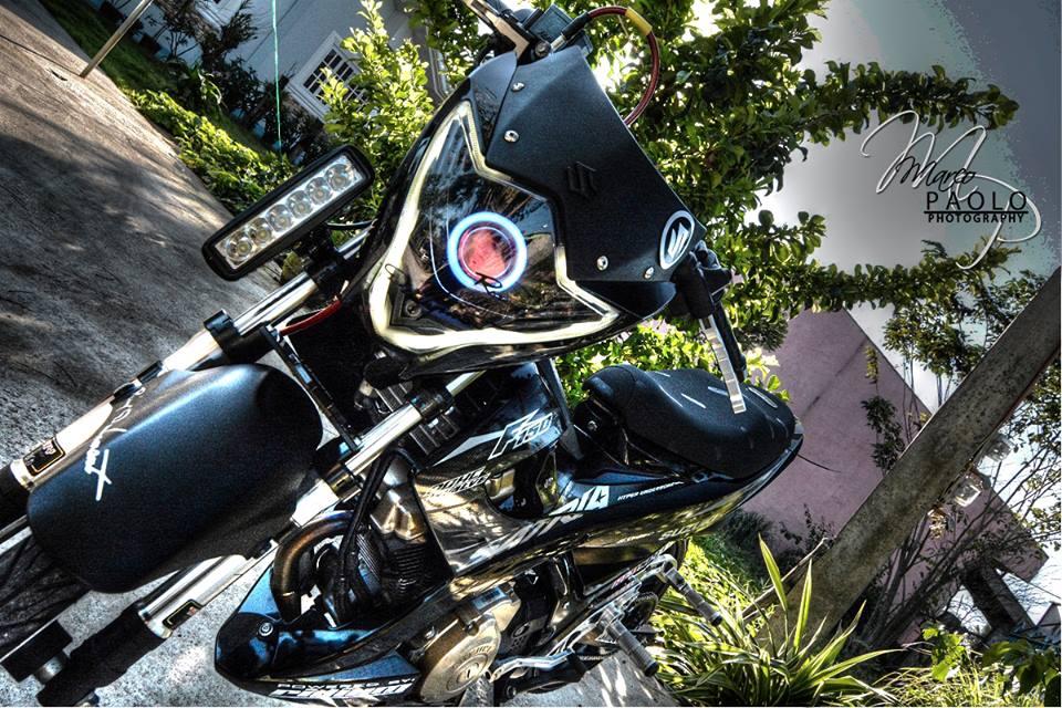 Suzuki Satria phien ban den tuyen black predator - 7