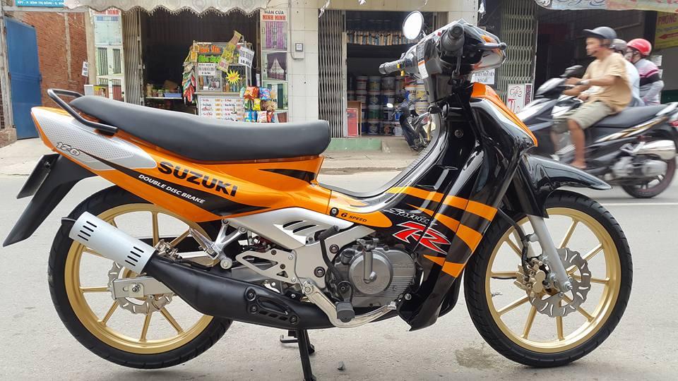 Suzuki Satria Sport 2000 phien ban cop nhieu nguoi san tim