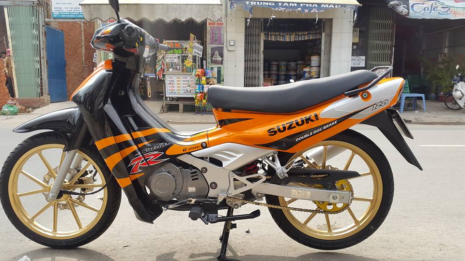 Suzuki Satria Sport 2000 phien ban cop nhieu nguoi san tim - 5