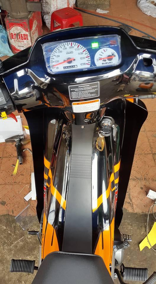 Suzuki Satria Sport 2000 phien ban cop nhieu nguoi san tim - 6