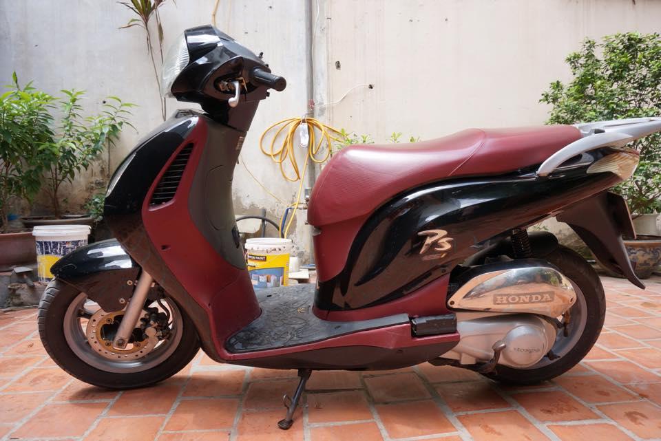 Thanh Ly 2 xe Honda PS 125i va Piaggio Liberty 50cc 2003 - 3
