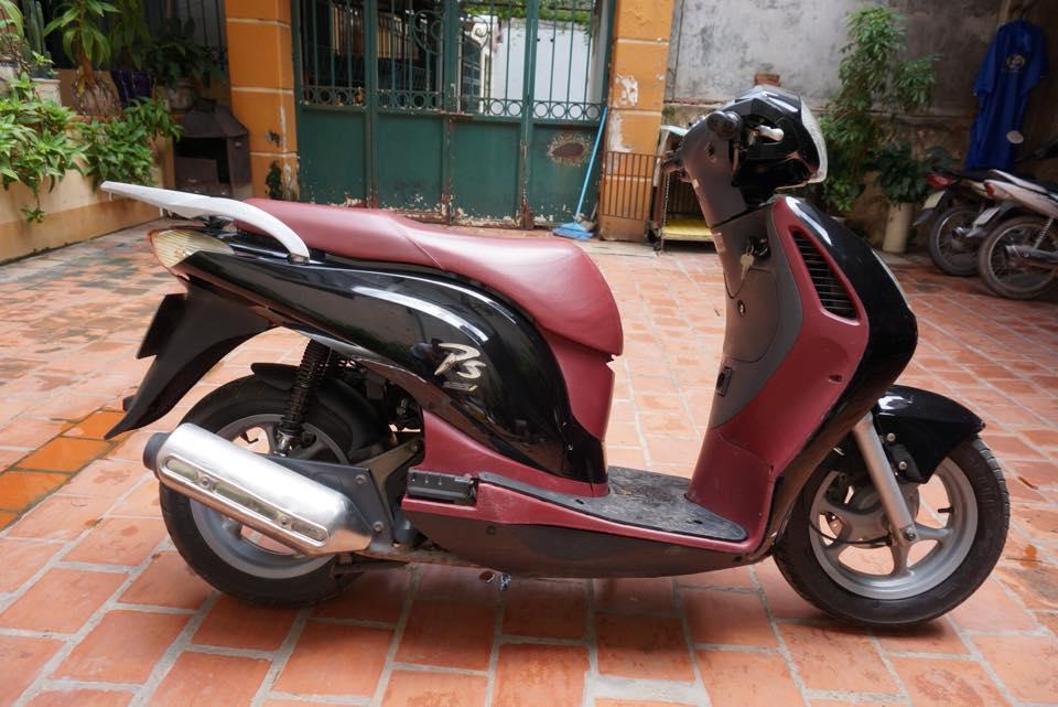 Thanh Ly 2 xe Honda PS 125i va Piaggio Liberty 50cc 2003 - 4