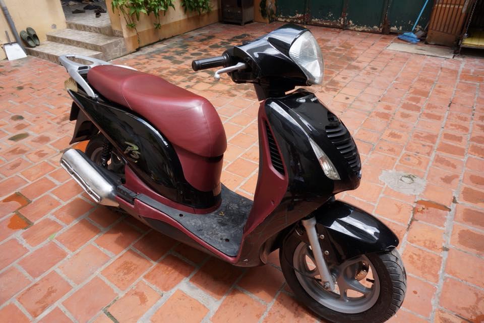 Thanh Ly 2 xe Honda PS 125i va Piaggio Liberty 50cc 2003 - 6