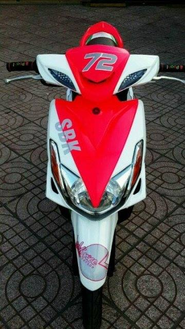 Ve dep cua Yamaha luvias 125cc thoi nay - 2