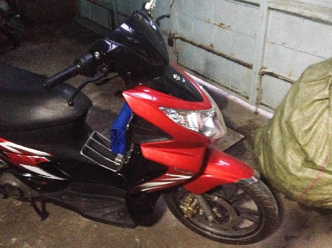 Xe Suzuki Hayate 125cc mau do - 2