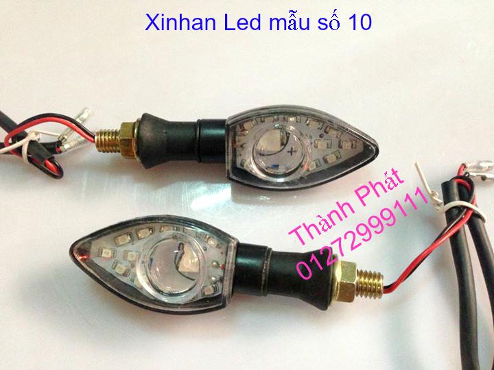Xinhan kieu Rizoma Barracuda OXFORD cho xe PKL va xe Nho Den LED kieu den Xenon Domi Bong OSR - 18