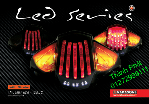Xinhan kieu Rizoma Barracuda OXFORD cho xe PKL va xe Nho Den LED kieu den Xenon Domi Bong OSR - 8