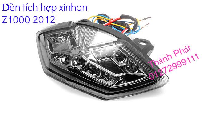 Xinhan kieu Rizoma Barracuda OXFORD cho xe PKL va xe Nho Den LED kieu den Xenon Domi Bong OSR - 24